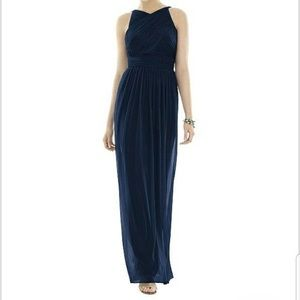 Alfred Sung Blue Long Evening Dress WORN ONCE